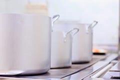 Professionele keuken Stock Foto's