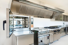 Professionele keuken Stock Foto