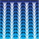 Professionele Kleurrijke Blauwe Kleuren abstracte geometrische vector als achtergrond stock fotografie