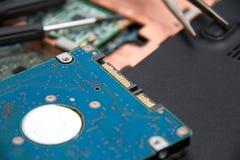 Professionele laptop reparatie Royalty-vrije Stock Afbeeldingen