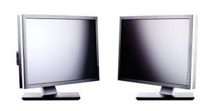 Professionele lcd monitors Royalty-vrije Stock Fotografie