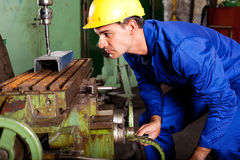 Professionele machinist stock foto's