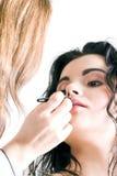 Professionele make-up Stock Afbeelding