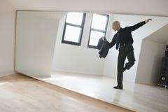 Professionele mannelijke danser Royalty-vrije Stock Fotografie