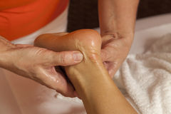 Professionele massage en lymfatische drainage  stock foto
