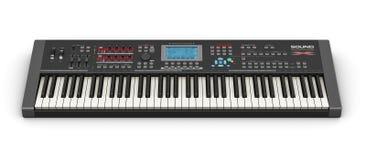 Professionele muzikale synthesizer royalty-vrije illustratie