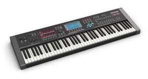Professionele muzikale synthesizer Royalty-vrije Stock Afbeelding