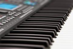 Professionele muzikale synthesizer Royalty-vrije Stock Foto's