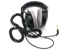 Professionele oortelefoons Stock Afbeelding