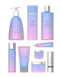 Professionele Reeks Kosmetische Reeks Vector Royalty-vrije Stock Afbeelding
