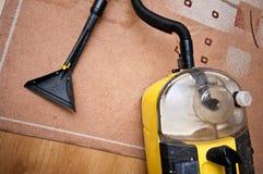 Professionele schoonmakende hulpmiddelen stock foto