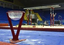 Professionele sporttribune met talk Royalty-vrije Stock Fotografie