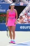 Professionele tennisspeler Shuai Peng van China tijdens ronde gelijke 4 Stock Foto's