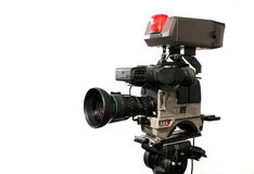 Professionele Videocamera Stock Fotografie