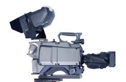 Professionele videocamera Royalty-vrije Stock Foto's