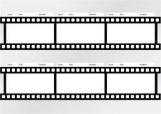 Professionell av mallen för storyboardfilmremsa Arkivbilder
