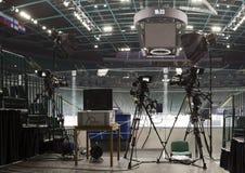 Professionelle digitale Videokamera Lizenzfreie Stockbilder