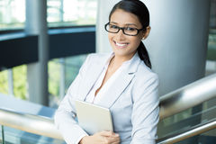 Professionelle intelligente Frau lizenzfreies stockbild