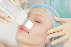 Professionelle kosmetische Hautpflege Lizenzfreie Stockbilder