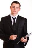 Professioneller hübscher Geschäftsmann Lizenzfreies Stockfoto