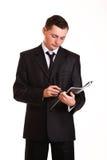 Professioneller hübscher Geschäftsmann Lizenzfreies Stockbild
