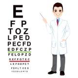 Professioneller männlicher Optiker Lizenzfreie Stockfotos