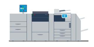 Professioneller multi Funktionsdrucker und -scanner des Büros lizenzfreie abbildung