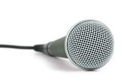 Professionelles dynamisches Mikrofon Stockfotografie