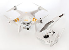Professionista del fantasma 3 di Quadrocopter Dji Fotografie Stock