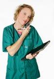 Professionista medico Fotografie Stock