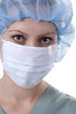 Professionista medico serio Immagine Stock