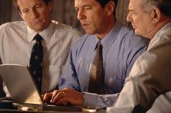 Professionisti dell'ufficio di affari Immagine Stock