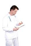 Professionnel médical photographie stock