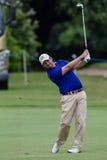 Professionnel Thomas Aiken Swinging de golf photos libres de droits