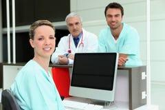 Professionnels de soins de santé Photo stock