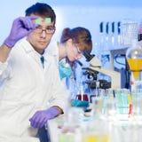 Professionnels de soins de santé dans le laboratoire Image stock