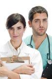 professionnels médicaux photographie stock