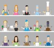 professions Illustration de Vecteur