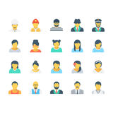 Professions Colored Vector Icons 6 Stock Photos