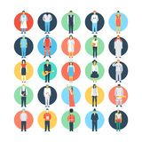 Professions Colored Vector Icons 2 Stock Photography