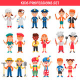 Professions Kids Set Royalty Free Stock Photos