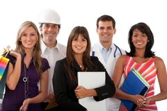 Professions and occupations Royalty Free Stock Images