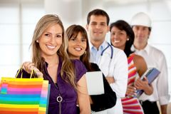 Professions and occupations Stock Photography