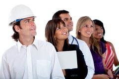 Professions and occupations Stock Photo