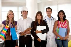 Professions and occupations Stock Images