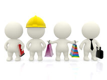 Professions and occupations Royalty Free Stock Photos