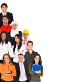 Professions and ocupations Stock Images