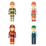 Professions service staff man Royalty Free Stock Photography