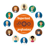Professions Royalty Free Stock Image