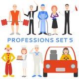 Professions, uniforms, job Stock Photo
